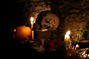 Modern day offerings for the Samhain festival. Image courtesy of Avia Venefica on Flickr.