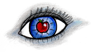 apple of eye